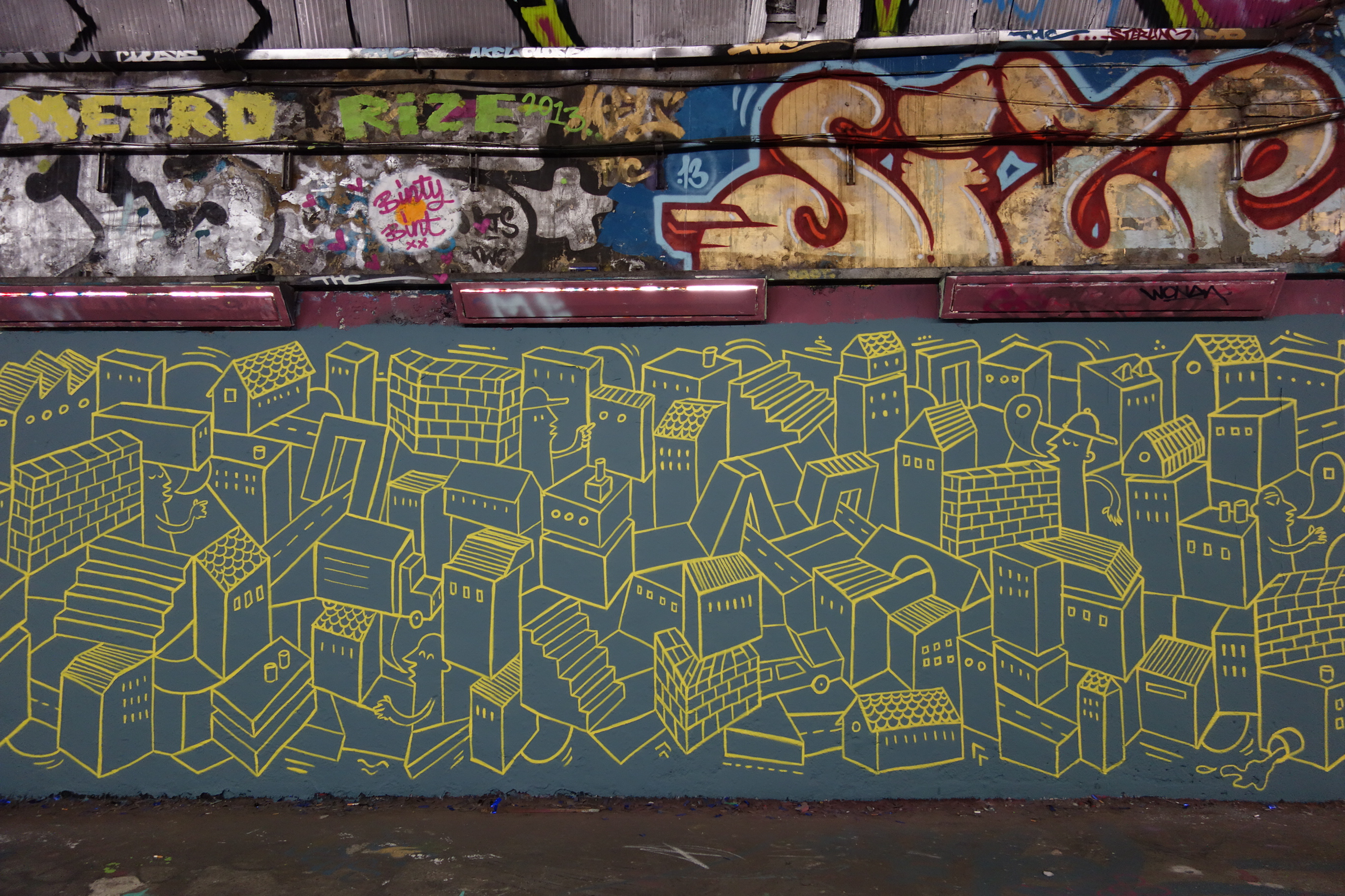 and in particular legal street art, can also be a political act perpetrated by graffiti activists who regard
