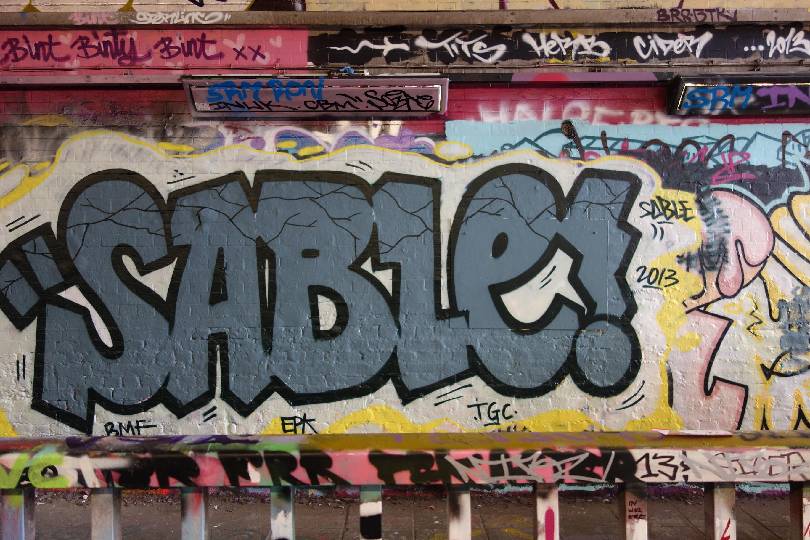 sable graffiti | SABINA ANDRON