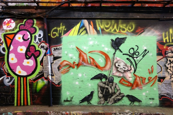 One of Sabina Andron's Leake Street Photos -- Click on the links in the blog text for the full animation