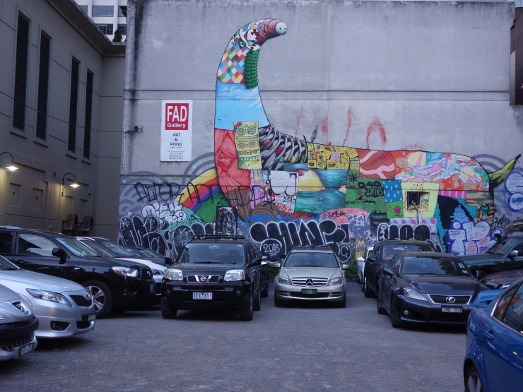 Car Park by FAD Gallery in Chinatown